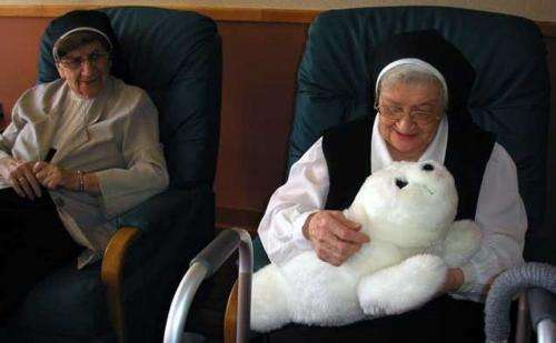 Before we give them fuzzy robots, let's try solving elderly loneliness with people