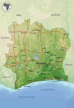 Remote Sensing Based Analysis of the Latest Development and Structure of Abidjan District, Cote d'Ivoire
