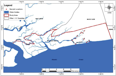 Seasonal and Spatial Variations of Physicochemical Properties of Eastern Obolo Coastal Water, Niger Delta-Nigeria